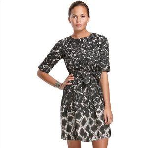 Thakoon for Target black/white shibori shirtdress